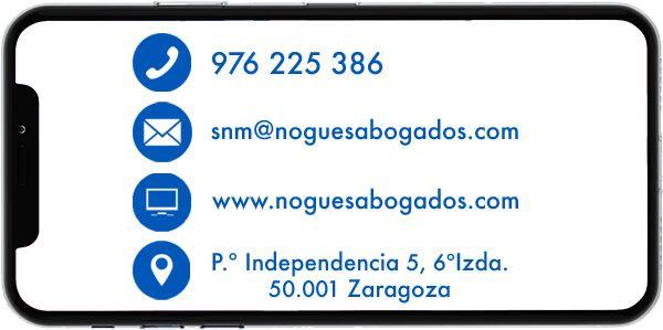 Contacto herencias Zaragoza