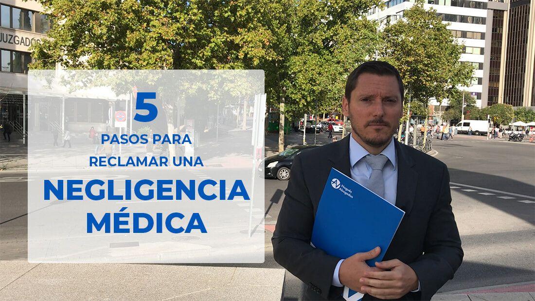 reclamar una Negligencia Médica