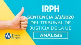 Sentencia favorable IRPH